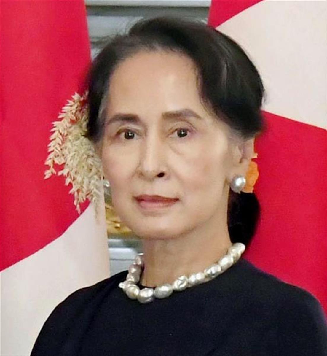 ミャンマーのアウン・サン・スー・チー氏