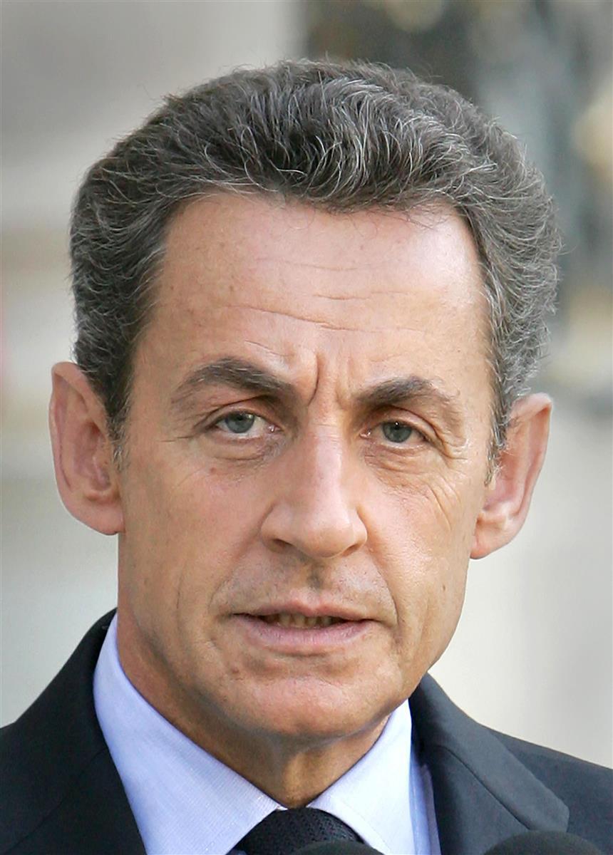 フランスのサルコジ元大統領=2011年(UPI=共同)