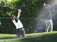 松山イライラも後半持ち直し87位 米男子ゴルフ第1日