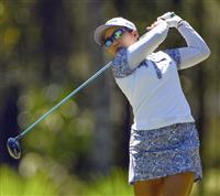 畑岡、野村は8打差86位発進 米女子ゴルフ第1日