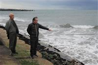 【東日本大震災10年】消えた海岸線 茨城・日立「河原子海水浴場」 復興へ取り組み続く