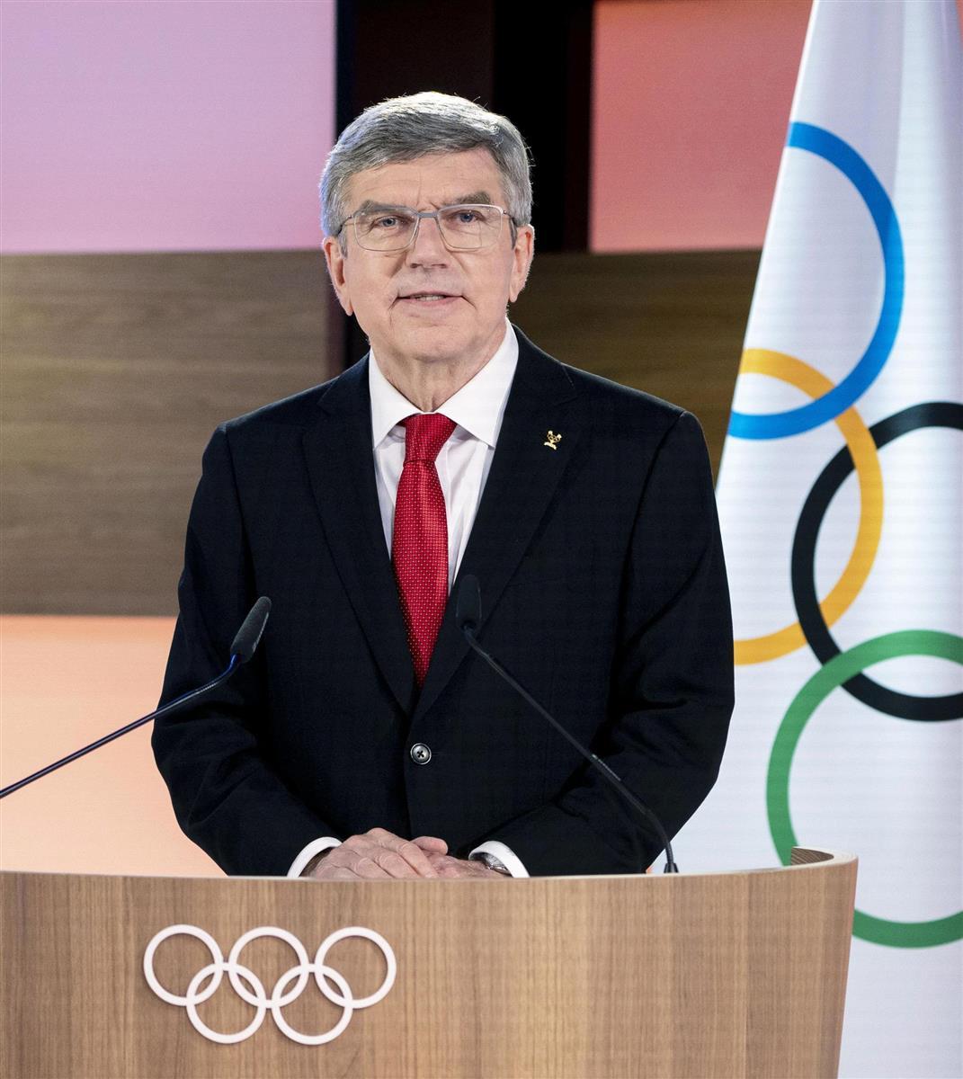 東京五輪参加者に「中国がワクチン提供」 IOC会長表明