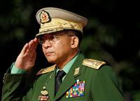 米、ミャンマーに追加制裁 国軍トップの子2人