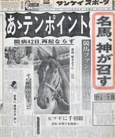 【勇者の物語~「虎番疾風録」番外編~田所龍一】(185)さらば、名馬よ 「すべて人並み…