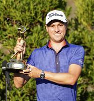 J・トーマスが逆転で14勝目 米男子ゴルフ最終日