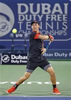 錦織がゴファン下しベスト16 男子テニスのドバイ選手権