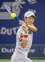 錦織8強、世界59位に快勝 男子テニスのドバイ選手権