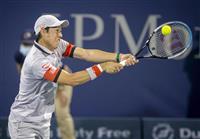 錦織に自信「トップ10の選手とも戦える」 男子テニス