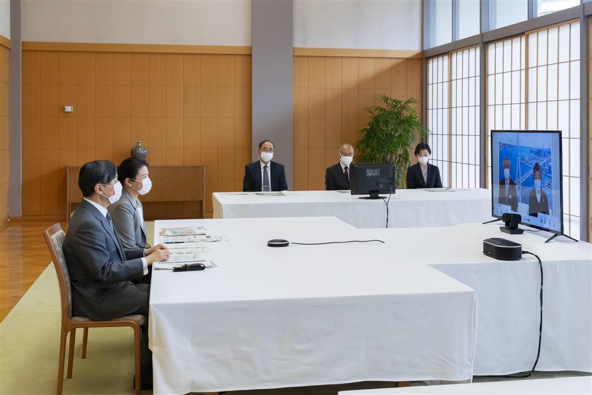 ウイークリー 両陛下、宮城県オンラインご視察 東日本大震災10年