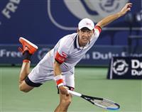 錦織、復調には手応え 終盤で相手サーブに屈する 男子テニス