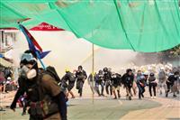 国軍の「学校占拠」非難