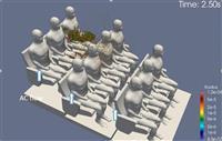 飛沫感染対策に室内環境シミュレーション活用 「富岳」プロジェクトに貢献する鹿島のノウハ…