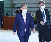 菅首相「選挙は直前まで黙るのが一番」 維新・鈴木宗男氏との面会で