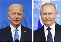 米、プーチン氏の対話提案拒否 バイデン氏「人殺し」認識