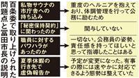 池田市長サウナ問題、パワハラ、秘密保持…百条委で明らかになった疑惑