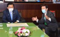 森田・千葉知事が国交相と面会 「20年後の礎は作った」