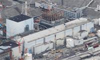 福島第1原発 廃棄物保管エリアの地面に高線量の塊