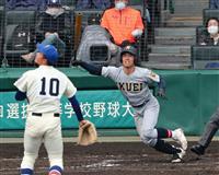 仙台育英、天理が8強 選抜高校野球大会第6日