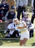 河本が63で4打差首位 女子ゴルフ第2日