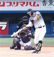 ヤ2-8神 阪神、6年ぶり開幕3連勝