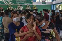 「恐怖と恥辱の日」と非難 ミャンマー巡りEU外相
