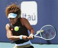 大坂が快勝で8強入り テニスのマイアミ・オープン