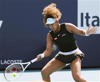 大坂が強気のリターンで圧倒、連勝は23に 女子テニス