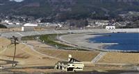 「奇跡の一本松」砂浜が復旧…岩手・陸前高田、震災後初の海開きへ