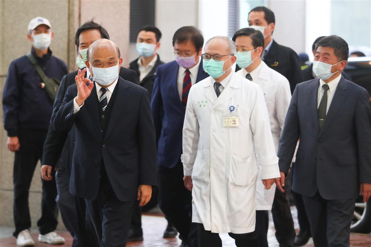 台湾でワクチン接種開始