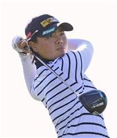 笹生3打差8位、渋野49位 ANA女子ゴルフ第1日
