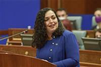 コソボ議会、オスマニサドリウ氏を大統領選出 投票ボイコットも