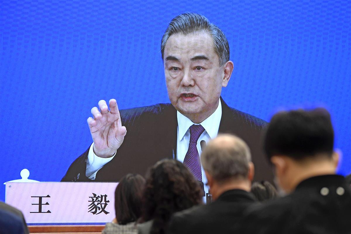 中国の王毅国務委員兼外相(共同)