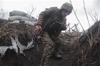 緊張高まるウクライナ東部、停戦違反10倍に 米露が牽制合戦