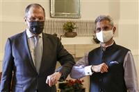 ロシア外相がインド訪問 クアッド牽制思惑も