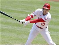 大谷は4打数2安打1盗塁 今季初のマルチ安打