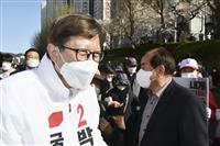 ソウル、釜山市長選で野党圧勝見通し 文政権に打撃
