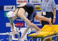 池江が50メートル自由形で予選2位通過、準決勝へ 競泳日本選手権第7日