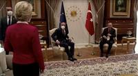 トルコ、EU2首脳との会談で女性首脳の椅子用意せず批判