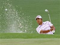 松山は首位と3打差の6位タイ マスターズゴルフ第2日