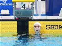池江、女子50メートルバタ決勝進出 競泳日本選手権最終日