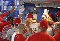 メジャー通算50本塁打の大谷「素直にうれしい」