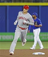 松井秀・イチローに続くメジャー通算50本塁打の大谷 完勝の立役者に