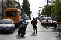ギリシャの著名ジャーナリスト、自宅前で射殺 2人組目撃