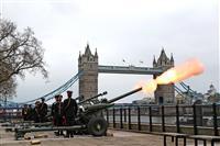 殿下死去に悲しみの英国 王室、コロナで弔問の自粛要請 軍は弔砲