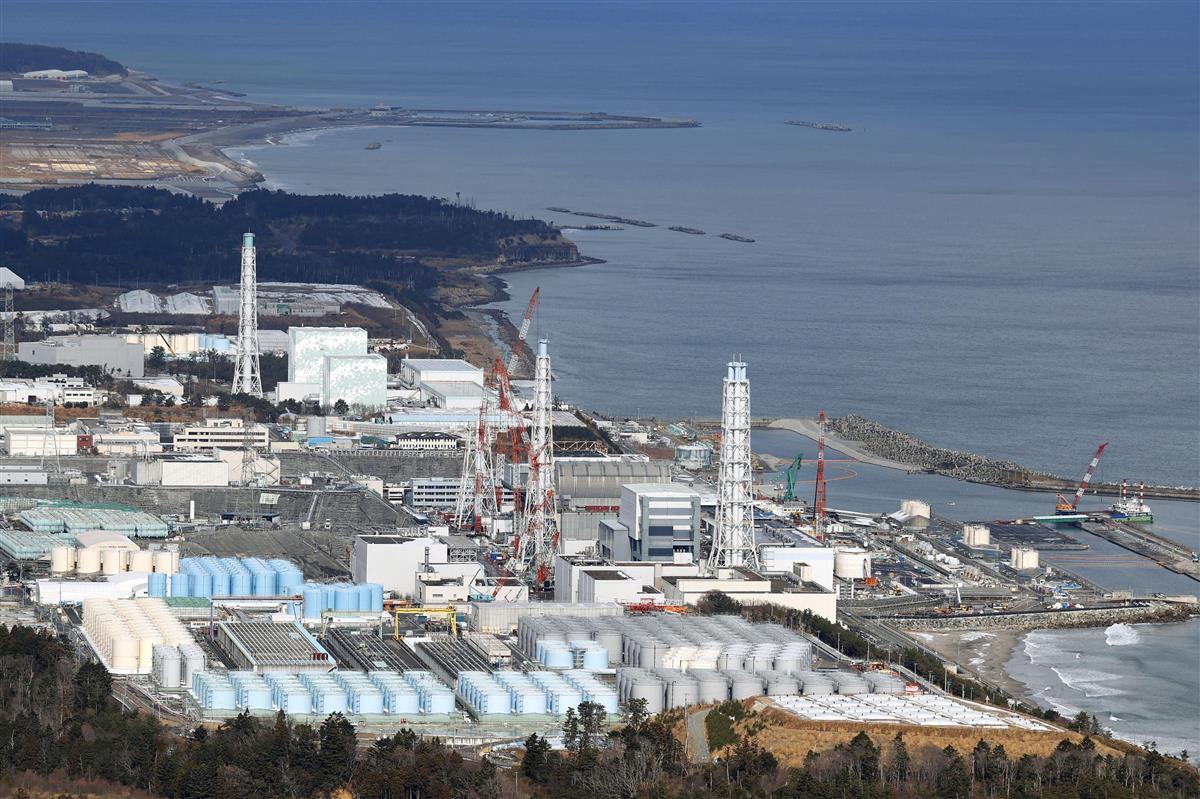原発処理水を海洋放出へ