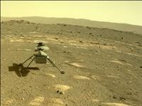 火星ヘリの初飛行また延期、14日以降に 高速回転で異常か