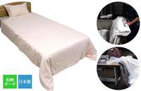 時間をかけて柔らかく仕上げた、肌にやさしい「和晒ガーゼ」の寝具