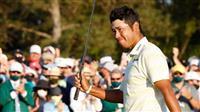 【動画】松山が優勝 日本選手初のメジャー制覇 マスターズゴルフ最終日