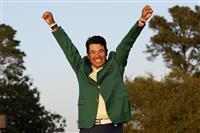 松山、原点で栄冠つかむ 憧れ貫いて悲願成就 マスターズゴルフ