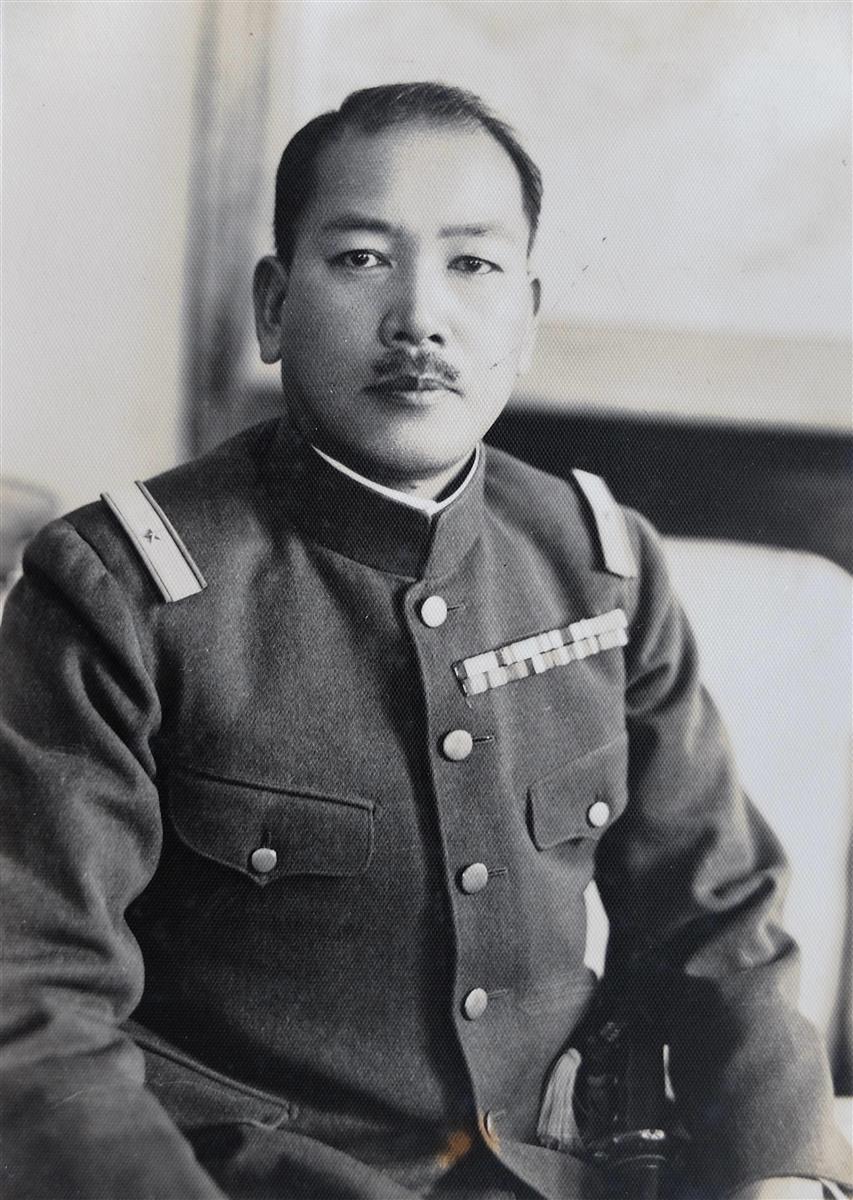 ハルビン特務機関長時代の樋口季一郎(樋口隆一氏提供)